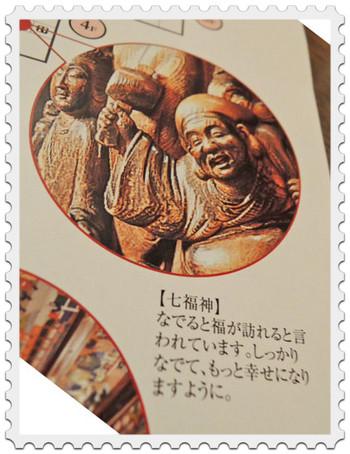 目黒雅叙園の七福神(案内図)