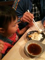 カウンターで天ぷら!