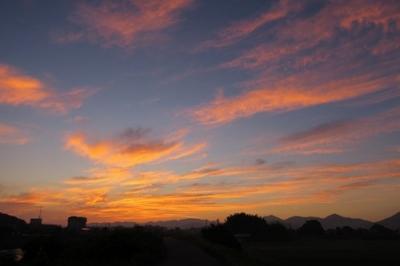 黒瀬菅田からの朝の風景2