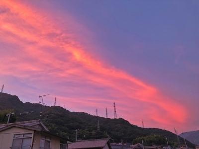 いつかの夕焼け(メバル師)