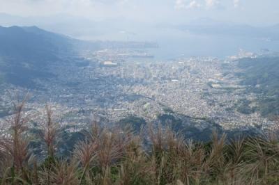 灰ヶ峰からの眺め