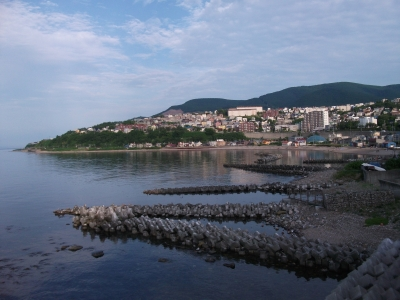 Otaru beach (wing bay)