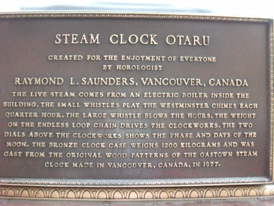 steamclock information