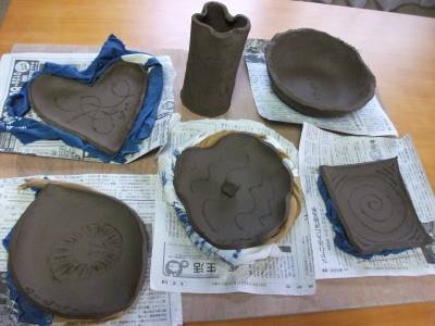 More pottery I made