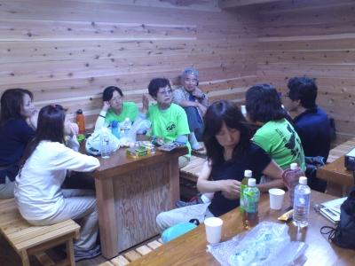 東富士山荘前夜会
