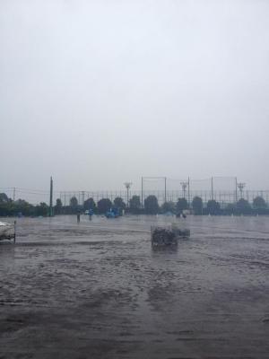 雨天の中のRFL