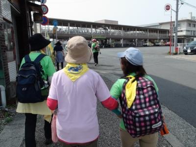 JR吉原駅北側