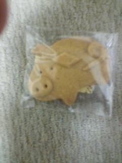ぶたさんクッキー