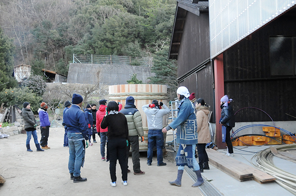 木桶職人復活プロジェクト