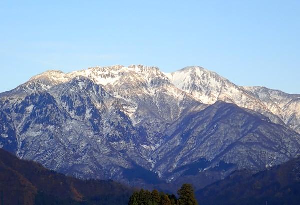 雪の「八海山」2018
