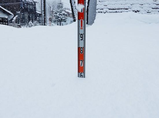 積雪 2020.02.11