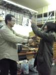 大江代表と米澤さん