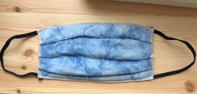 藍染めマスク