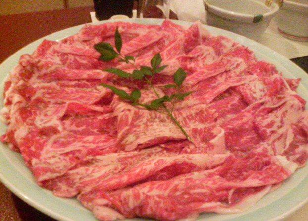国産和牛ロース3人前(3900円)