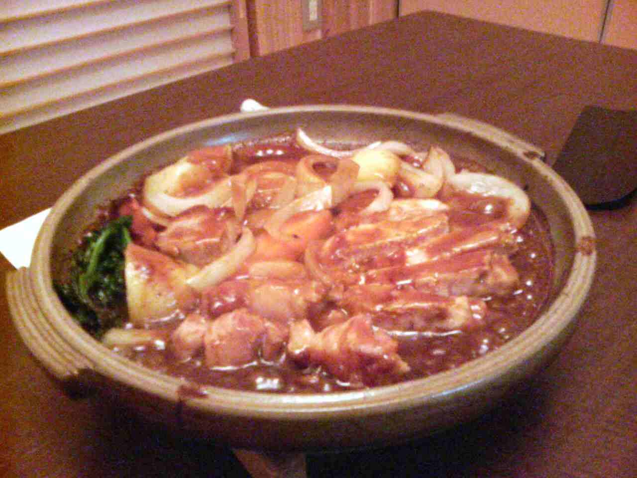 ポーク陶板焼(2000円)