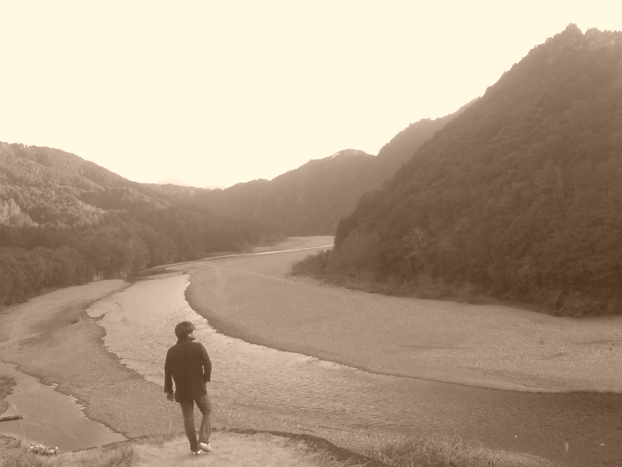 北山川から
