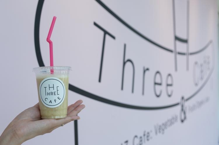h three studio cafe スムージー