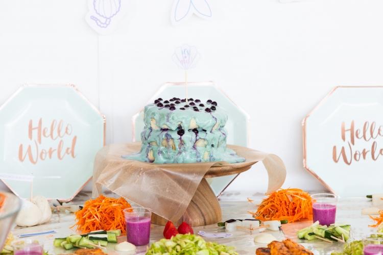 米粉ケーキ バースデー ベビーシャワー