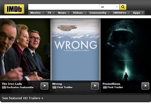 IMDb(インターネット・ムービー...