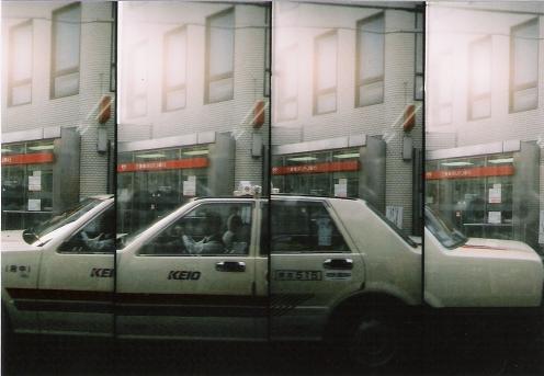 タクシーを4つ