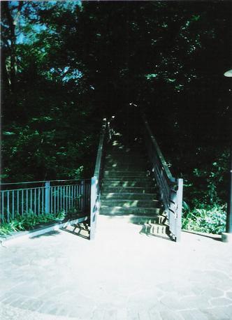 階段の入り口
