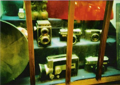 古いカメラ達