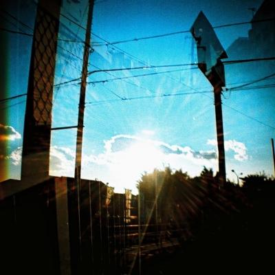 カメラ:ダイアナミニ フィルム:コダックE100 クロスプロセス