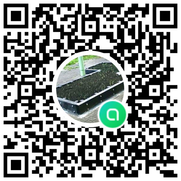 いきちか花壇プロジェクトチャットQRコード