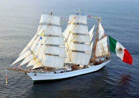 帆船クアウテモク