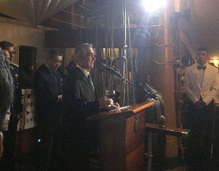 メキシコ大使演説