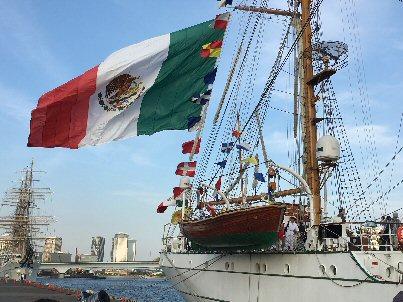 メキシコ帆船昼