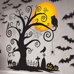 ウォールデコレーティングキット スプーキーシーン Spooky Scene Wall Decorating Kit