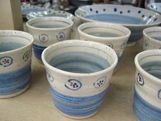 呉須絵 そばちょこ ¥1,600(陶器まつり会場では特価となります)
