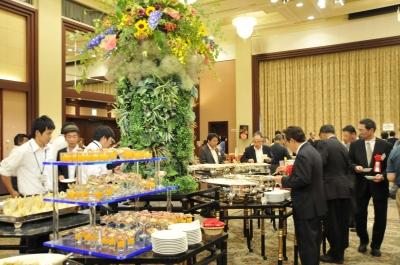 水戸プラザホテルの豪華な料理
