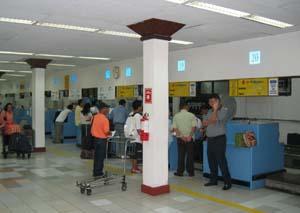 MNL国内線カウンター