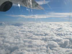DG機内からの景色