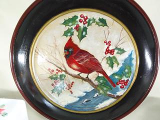 リスマスの赤い鳥