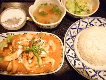 バンタイの料理
