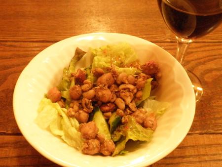 インド豆のスパイシーサラダ