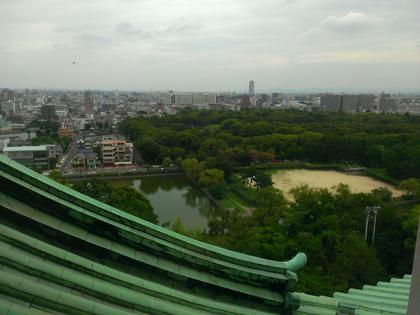 名古屋城からの眺め