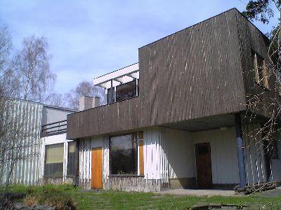 アルヴァ・アアールトの自邸外観