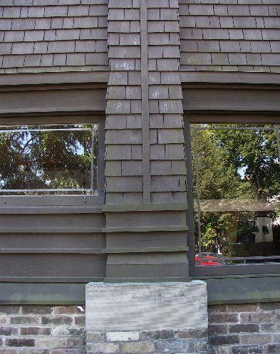 ライトの自邸外壁写真