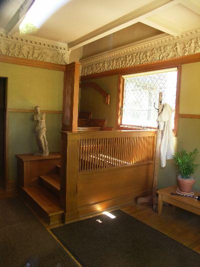ライトの自邸内部の写真
