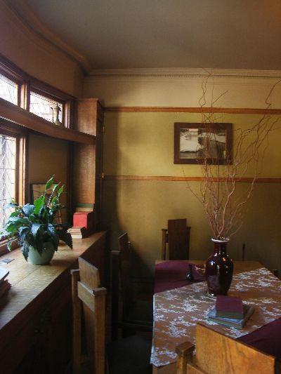 ライトの自邸内部写真