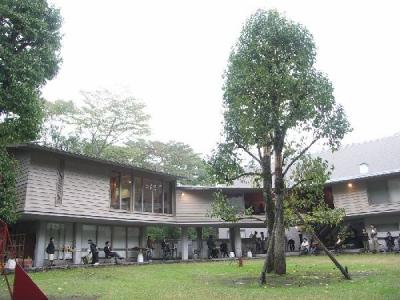 吉村順三・軽井沢の山荘B(脇田邸)見学