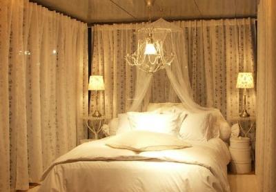 IKEAの北欧風主寝室