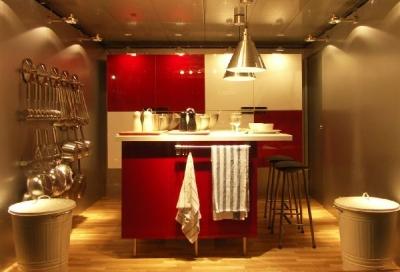 IKEAの北欧のキッチン