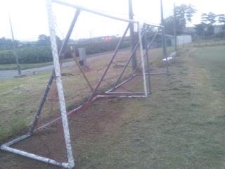 ゴール 手作り サッカー