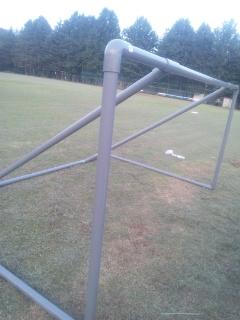 手作り サッカー ゴール