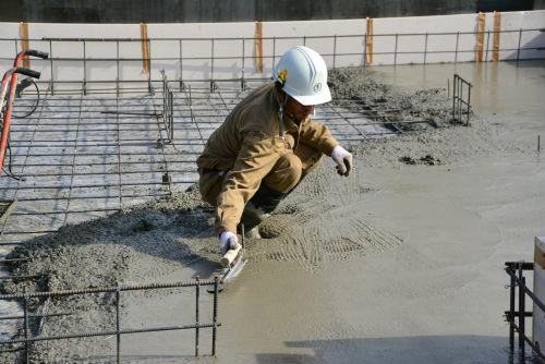基礎土間コンクリート打設